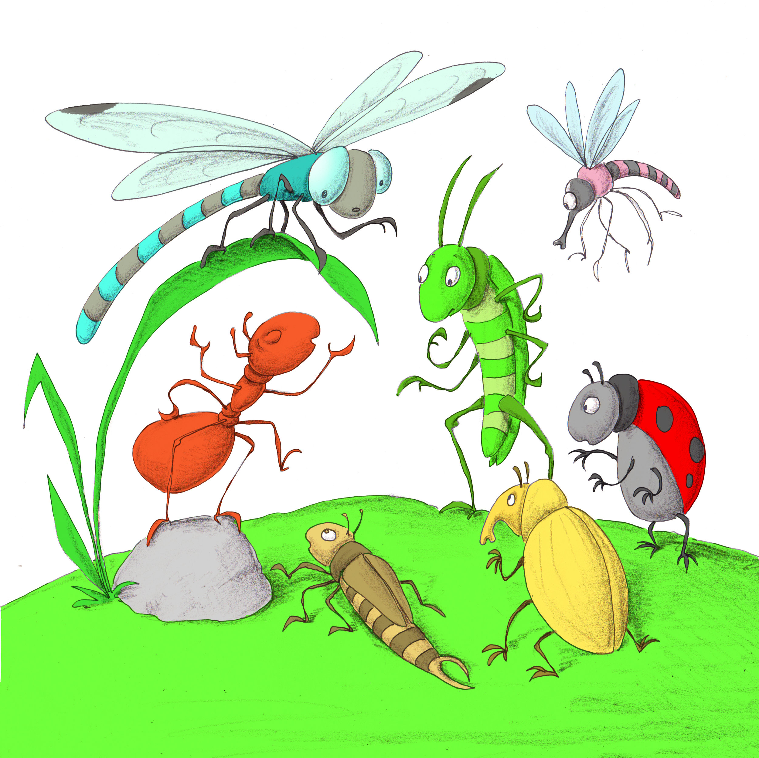 Download image from Little Ant and the Dragonfly.