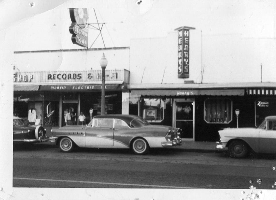 The Original Record Town Store Front.