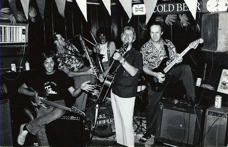 Juke Jumpers at the Bluebird Club in Fort Worth, TX in 1979
