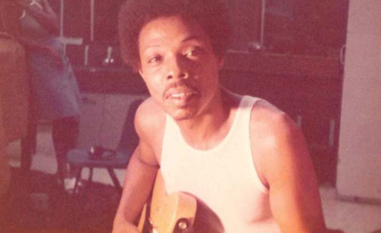 A snapshot of Dupree at a session in the 1970s. Photo courtesy of Gordon Edwards