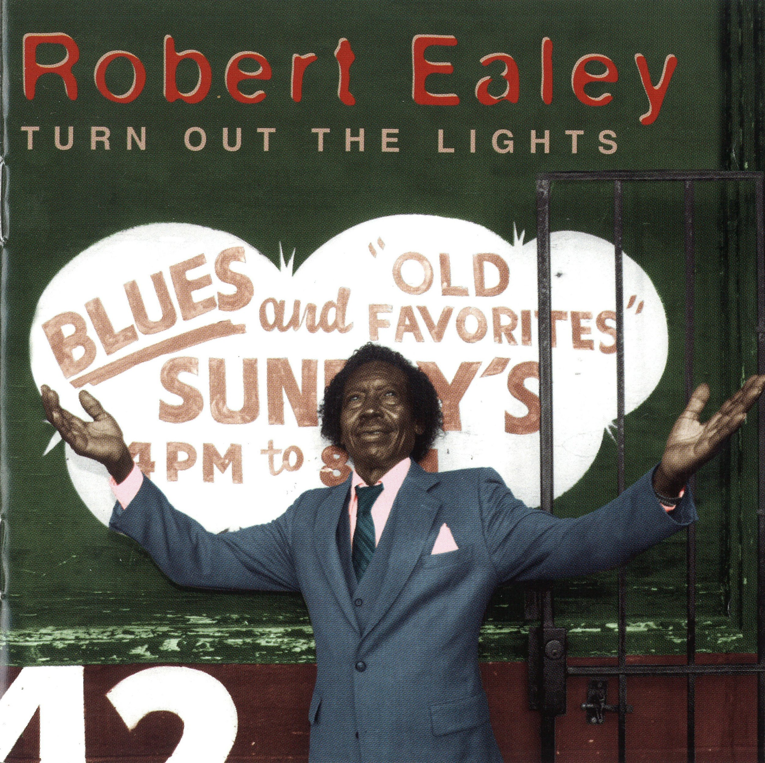 Front Cover – Robert Ealey – Turn Out the Lights (1996)