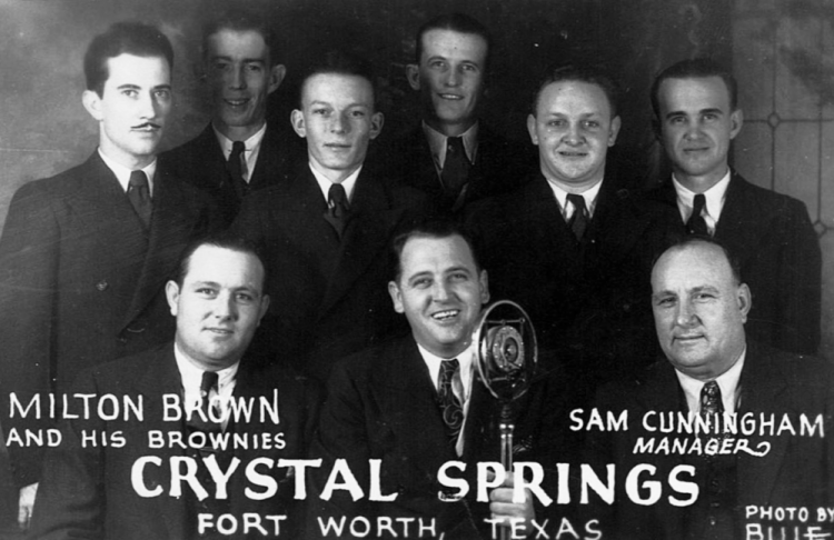 A 1930s Milton Brown promotional photo. Photo: Courtesy Cary Ginell