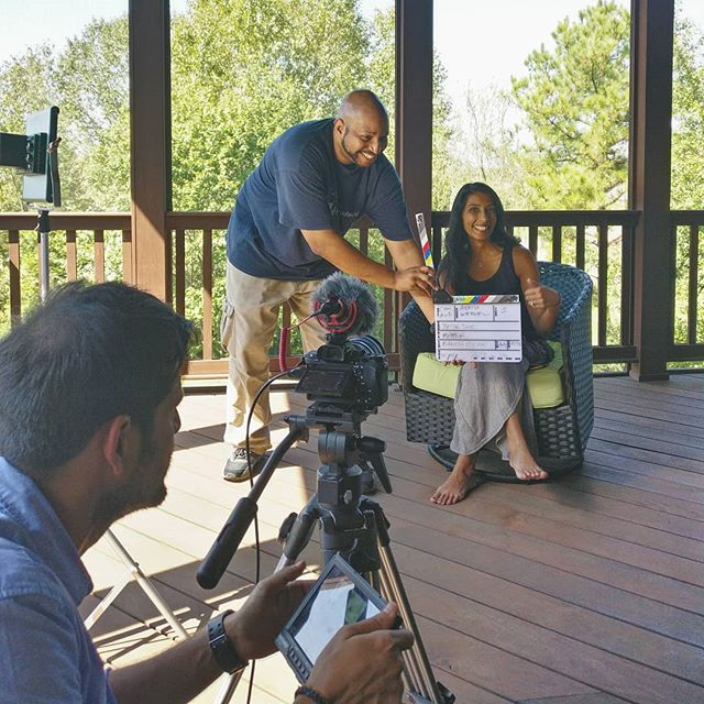 And we are back! Picking up the story two years later with Dr. Ankita Modi and her crew of next-generation Indian-American philanthropists. Charlotte shoot Day 1 of 4. #giveback