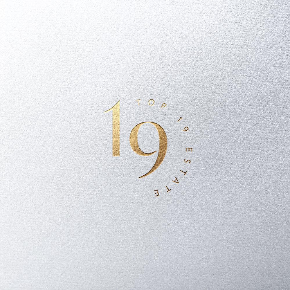 TOP19 ESTATE   Logo Design