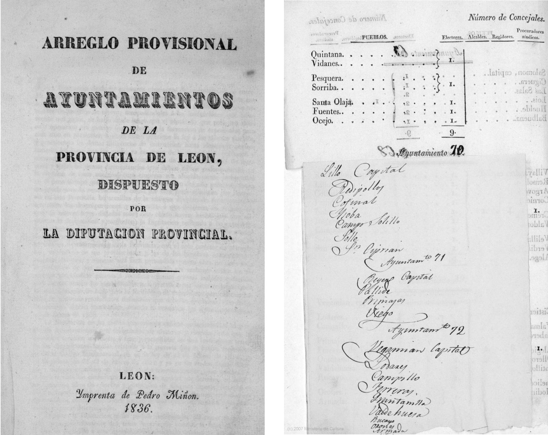 Boletín oficial de la provincia de León, 1836.Biblioteca Regional Mariano Domínguez Berrueta.