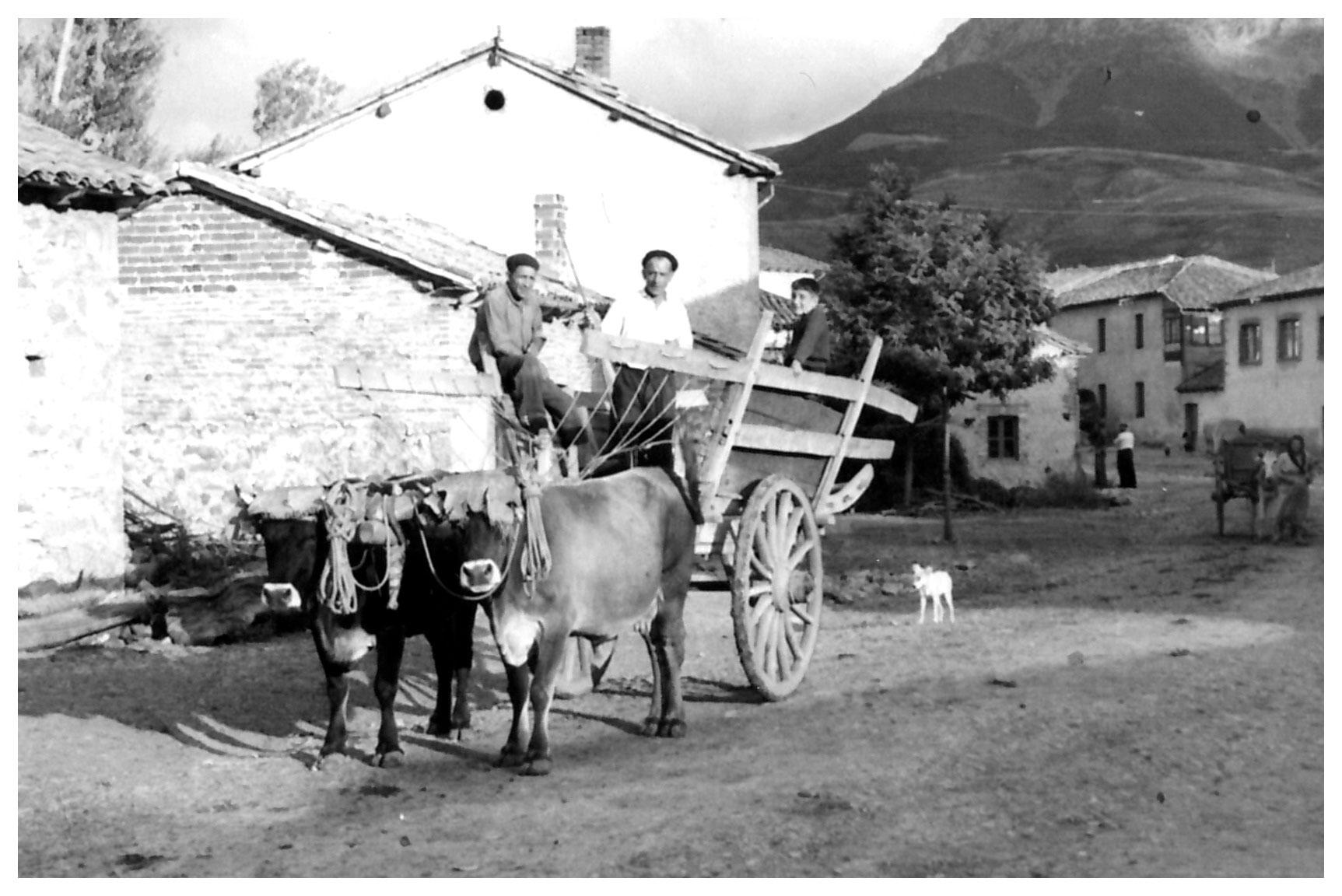 Guillermo Fernández en Vegamián, 1957. Foto cedida por: Herminia Fernández.