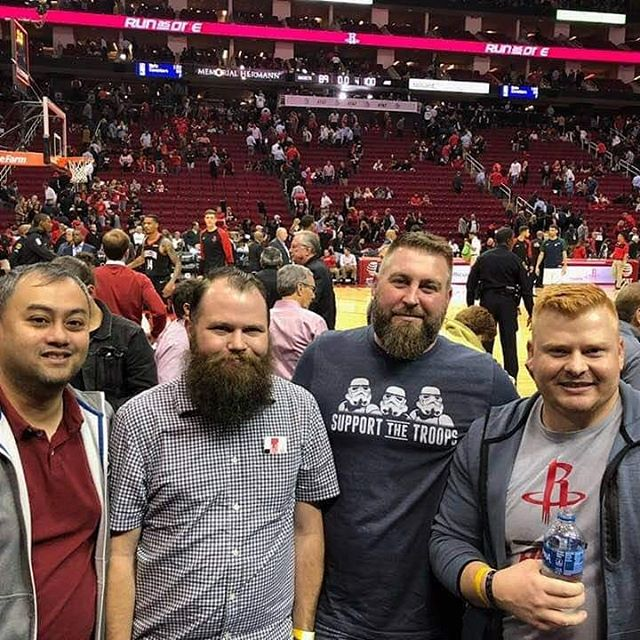 Josh Arner - Netspark, AT&T, and WCA at the Rockets Game 🏀