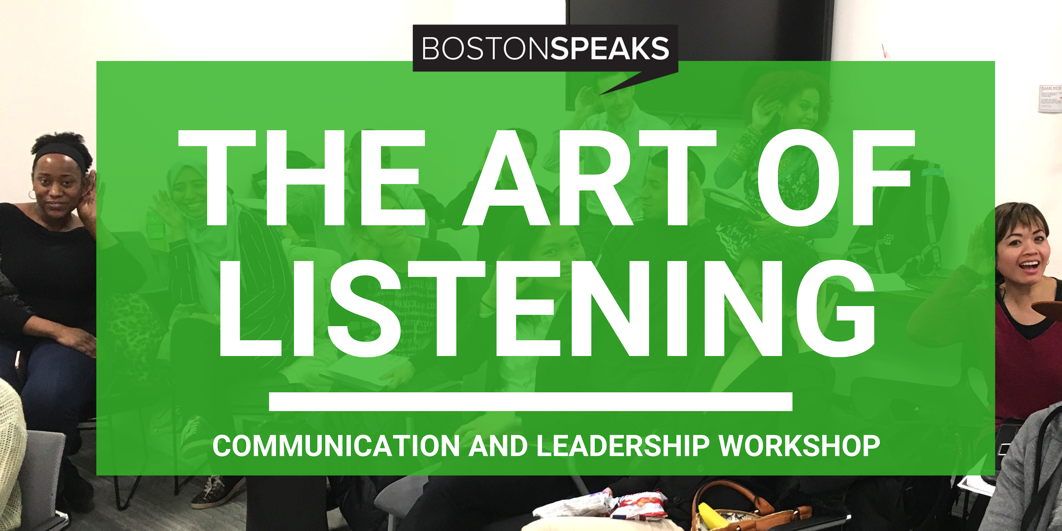 What Did You Say Again? - ATTEND OUR FREE BROWN-BAG LUNCHTIME COMMUNICATION AND LEADERSHIP SEMINAR TO DISCOVER THE POWER OF LISTENING. (1 HR 30 MIN WORKSHOP)