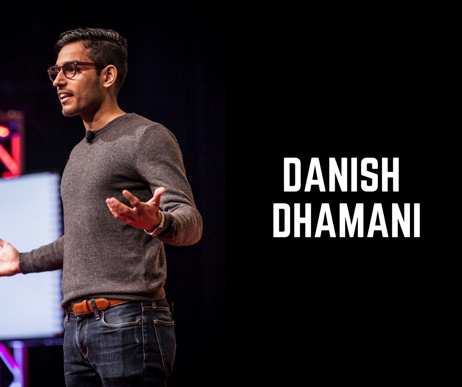 So No Prepping From My End? - How You Can Go From Good To Great Public Speaking12pm PT // 3pm ETDanish Dhamani | Founder of Orai