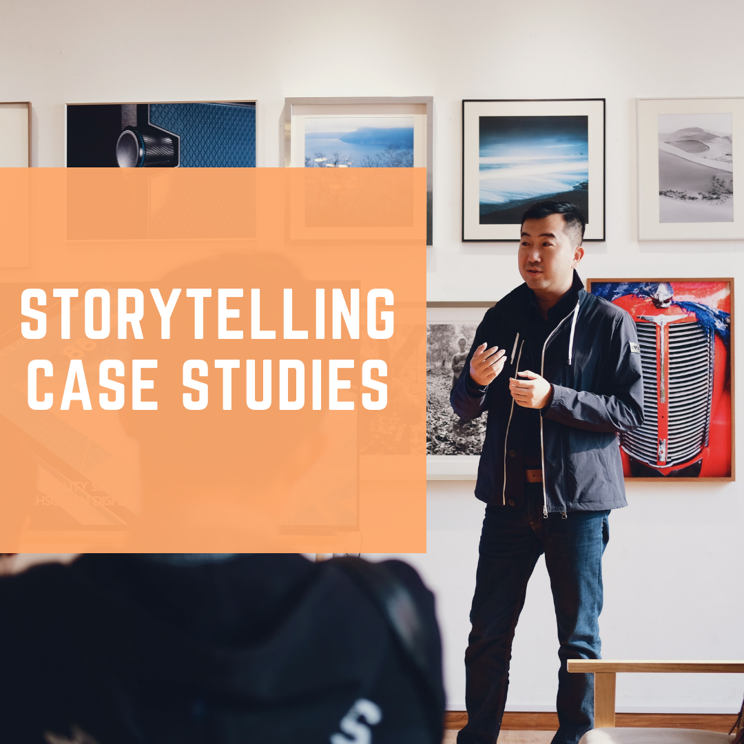- Storytelling makes us human and it's one of our oldest art forms. Reflect on powerful storytelling case studies that will change the way you look at storytelling