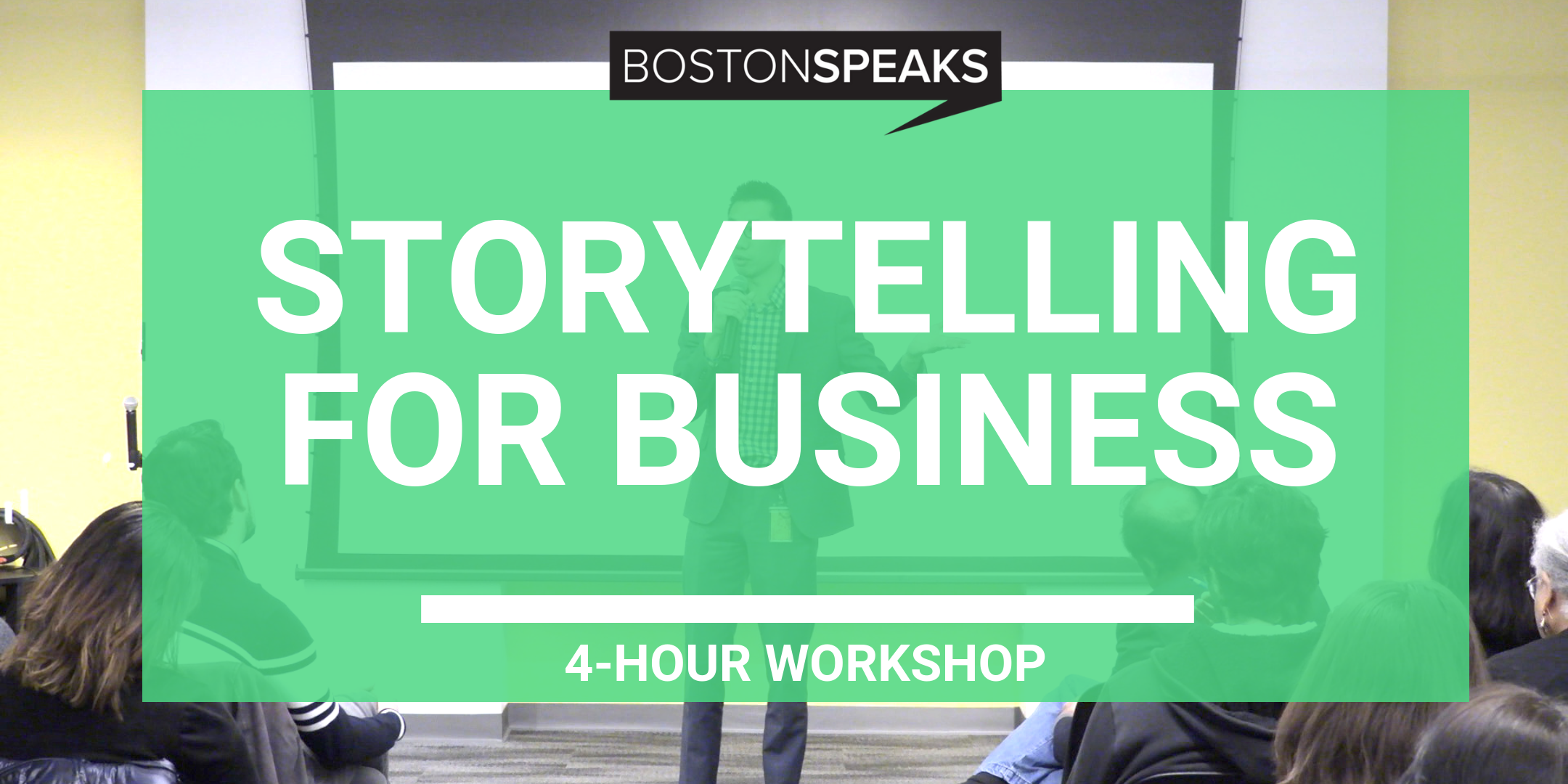 Stories For Work - LEARN HOW TO USE STORYTELLING TO LEAD, INSPIRE AND MAKE YOUR IDEAS STICK (4-HOUR WORKSHOP)
