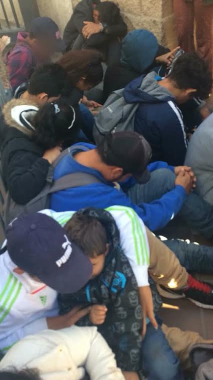Families seeking asylum