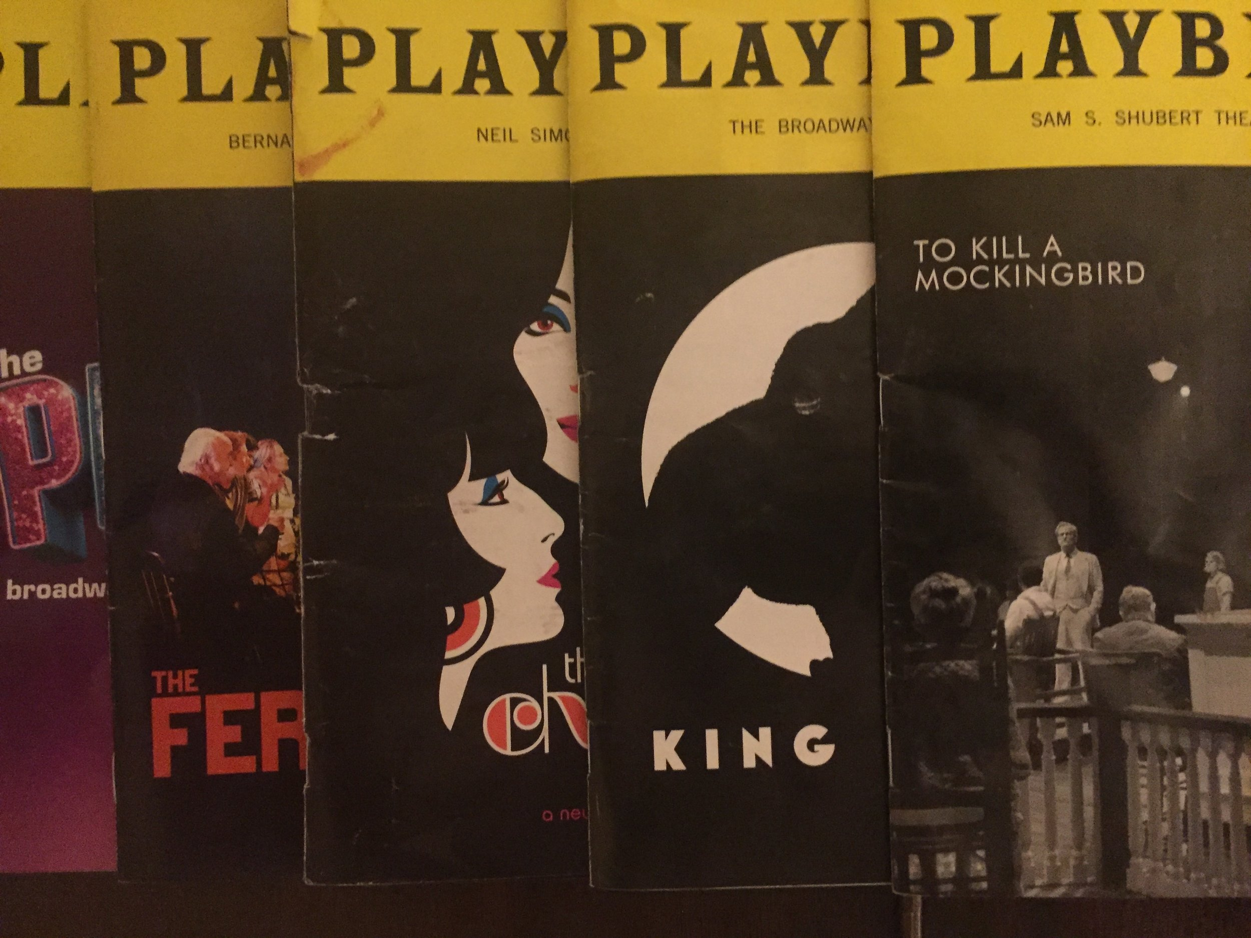 The Bible - IF THEATER IS YOUR RELIGION, each edition of Playbill is a sacred object. Playbill was first published in 1884. That theater season included Gilbert & Sullivan's