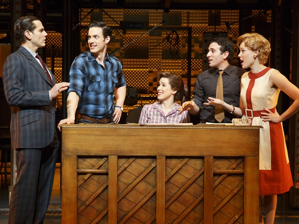 "Piano Woman - ""Beautiful: The Carole King Musical"" opened on Broadway in early 2014. And now, after what can be described only as a smash run, it's closing in late October. That's Chilina Kennedy, in the center of the cast photo, as King."