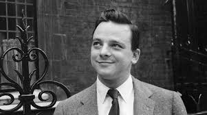"""S is for Saint .... - Stephen Sondheim. Rhymes with genius, brilliant and demigod. We can only pray that he lives to be 109, so he can see the film version of """"Merrily We Roll Along."""" Devotees often refer to him as St. Stephen."""
