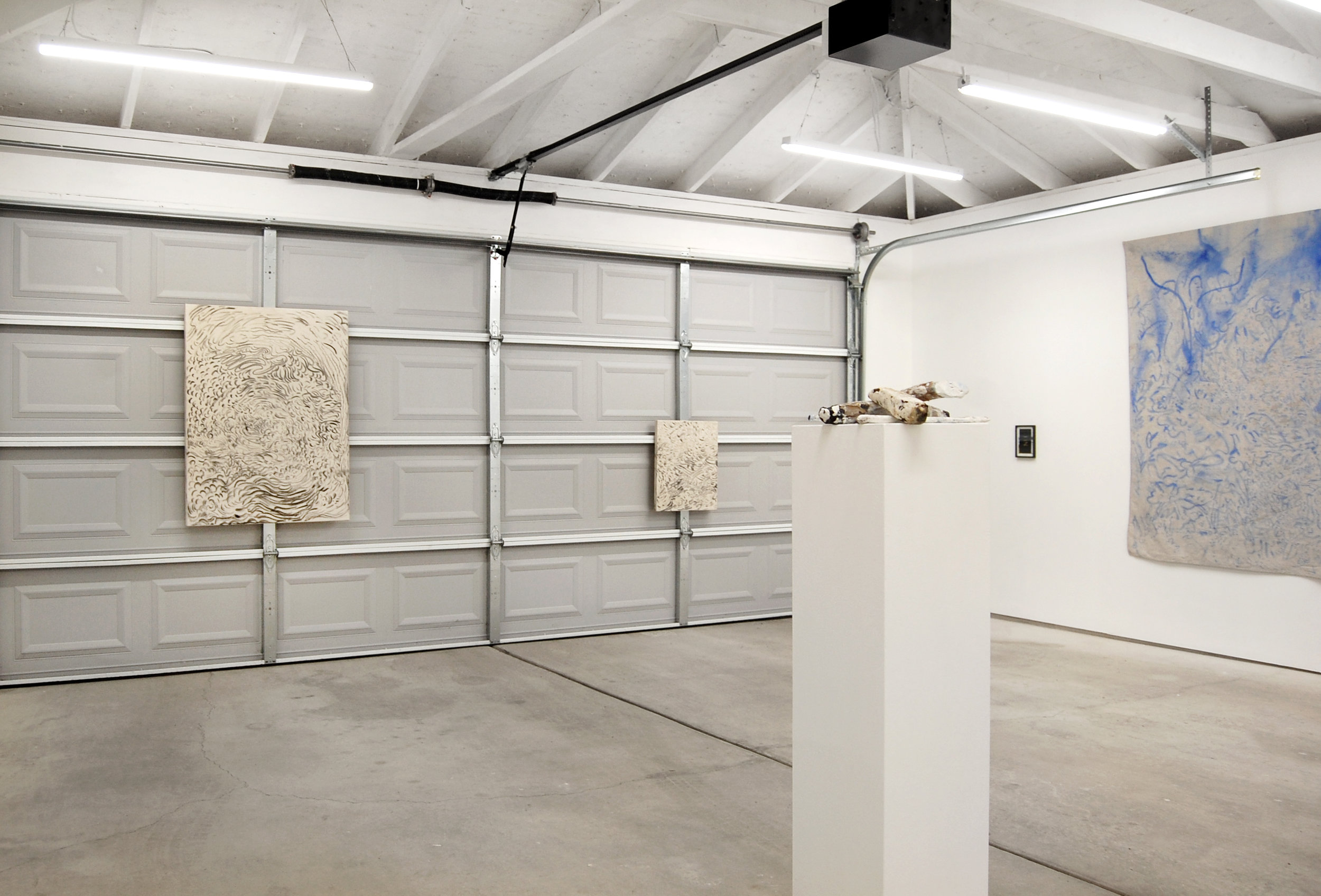 Forced Autumn , installation view at Chicago Manual Style, 2017.
