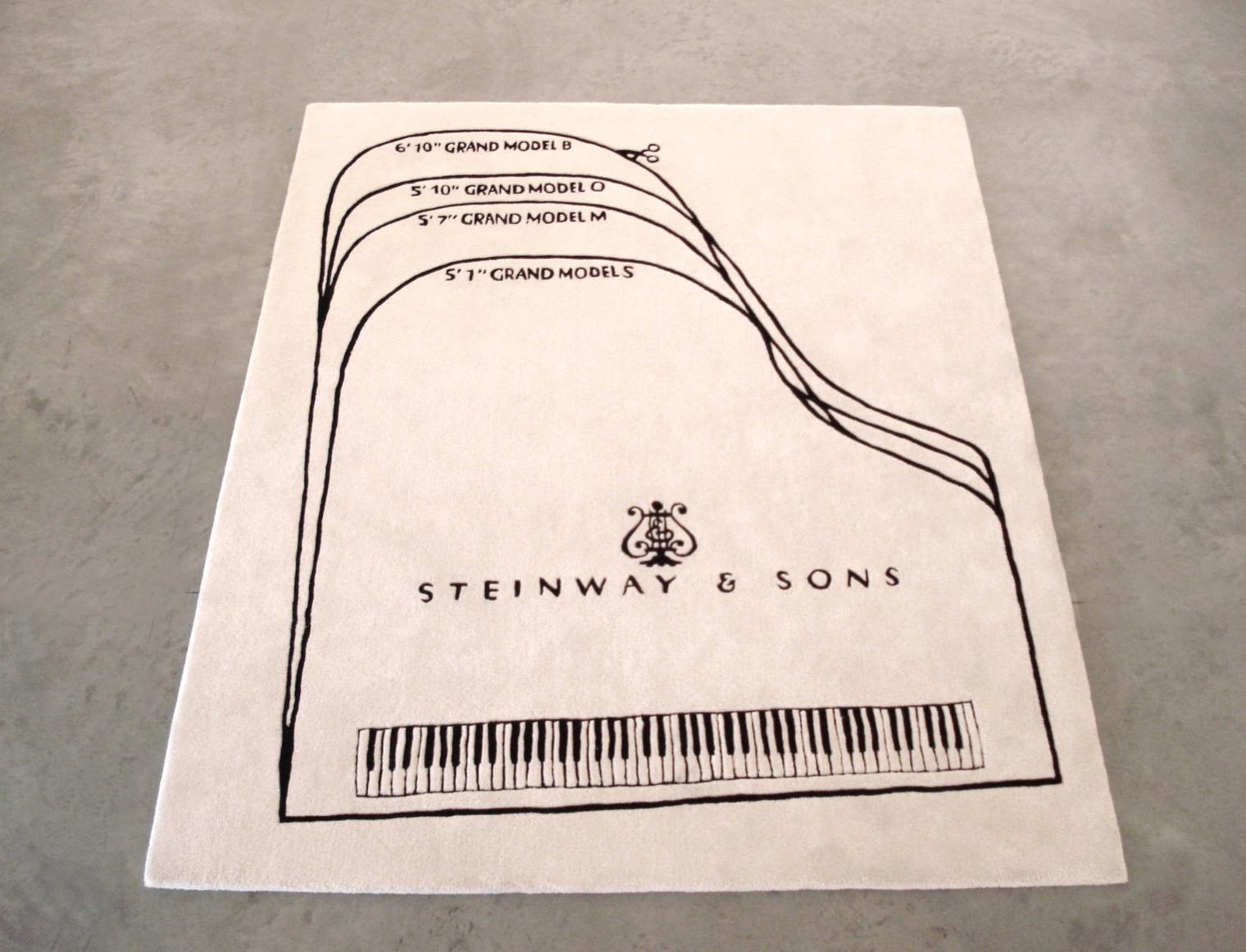 Barbara Bloom,  Steinway Piano Carpet  (2010). Courtesy of David Lewis Gallery, New York.