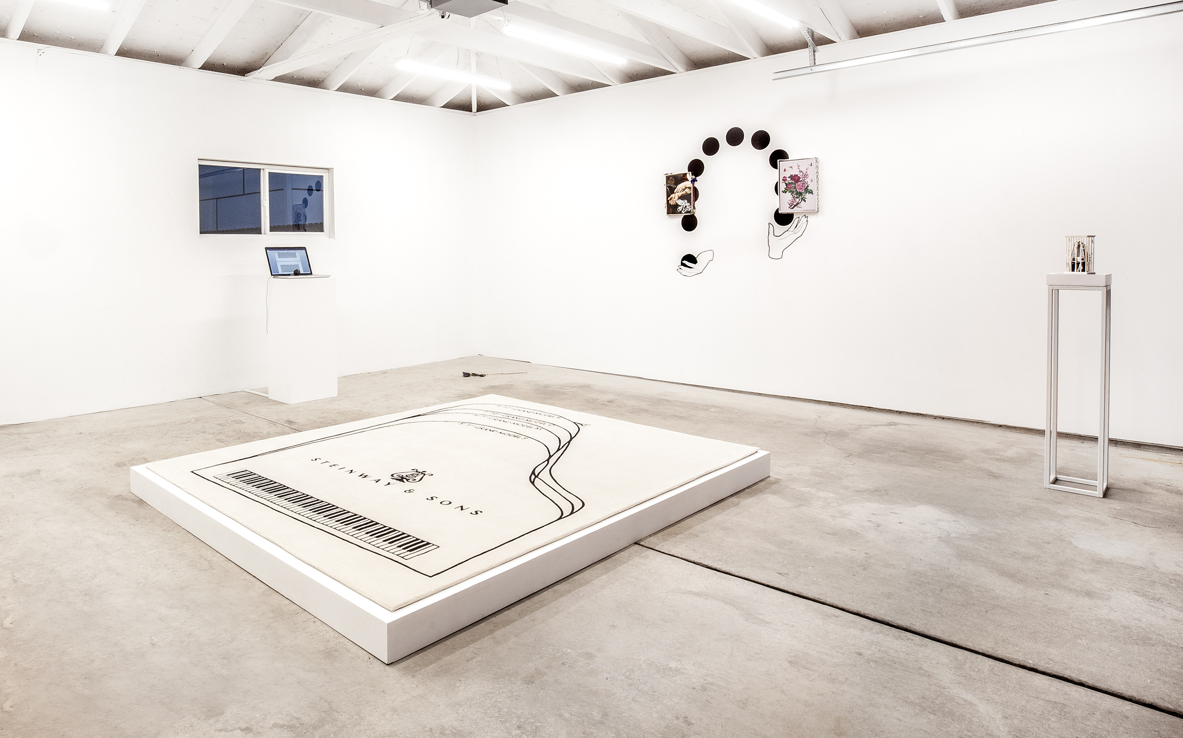 Note G , curated by Stephanie Cristello and Nathaniel Hitchcock, installation view, 2018. Photo: Daniel Hojnacki.