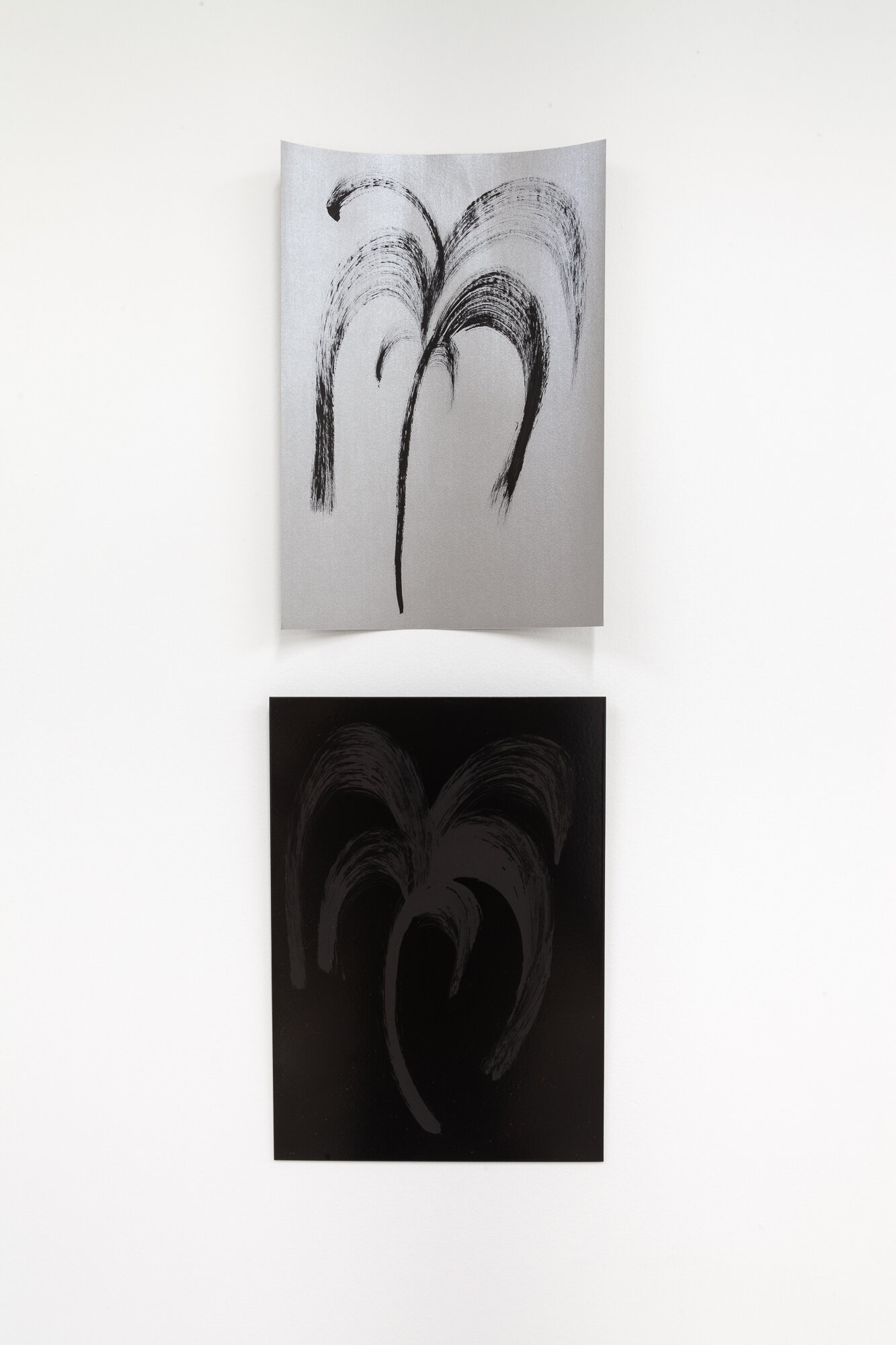 Image: Sarah Ortmeyer,  PALMA , 2019. Gesso on paper / Gesso on metal.  INFERNO CHICAGO , curated by Stephanie Cristello, Chicago Manual Style (Chicago, IL). Copyright Sarah Ortmeyer. Courtesy of Dvir, Tel Aviv / Brussels. Photographer: Robert Chase Heishman.