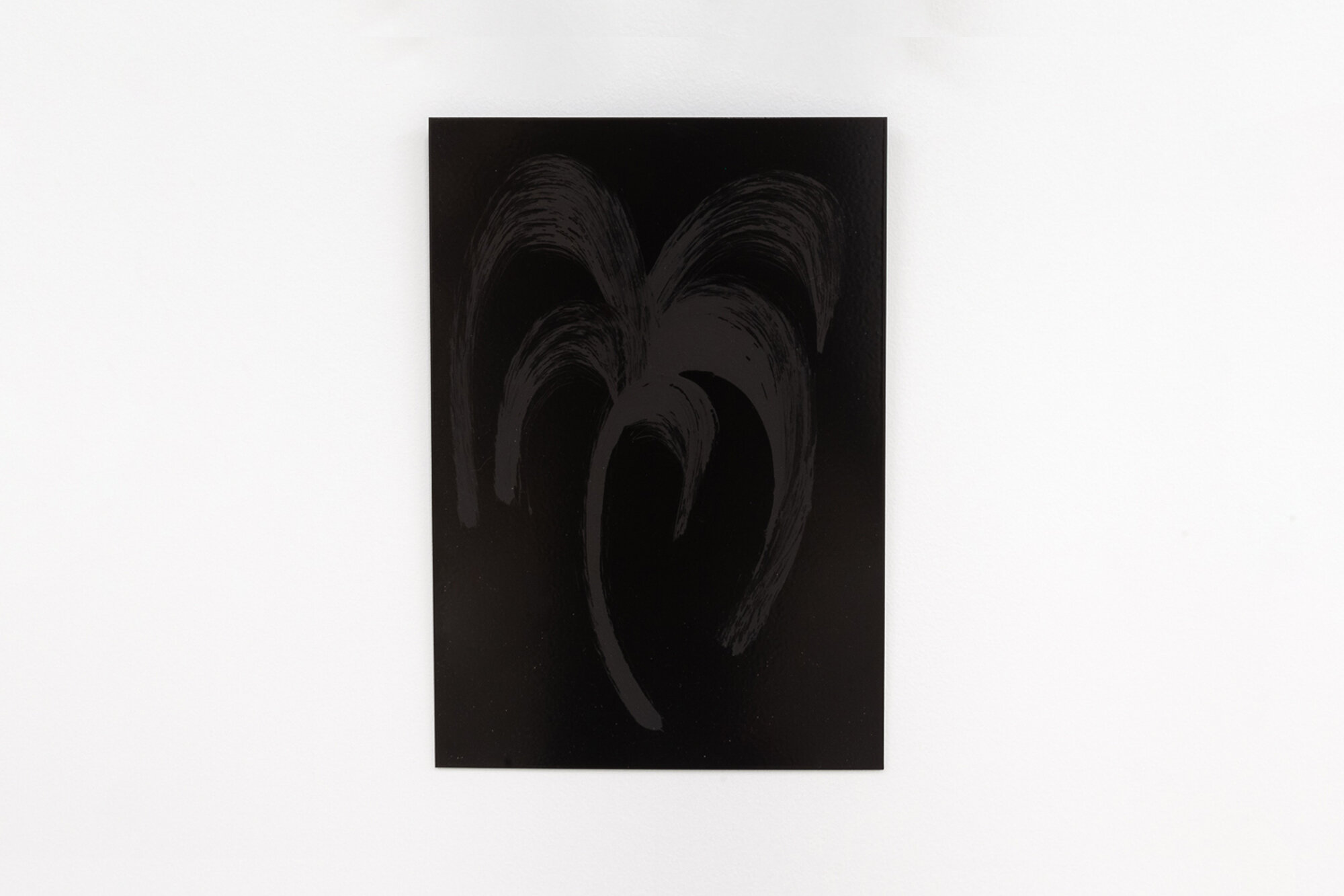 Image: Sarah Ortmeyer,  PALMA , 2019. Gesso on metal.  INFERNO CHICAGO , curated by Stephanie Cristello, Chicago Manual Style (Chicago, IL). Copyright Sarah Ortmeyer. Courtesy of Dvir, Tel Aviv / Brussels. Photographer: Robert Chase Heishman.
