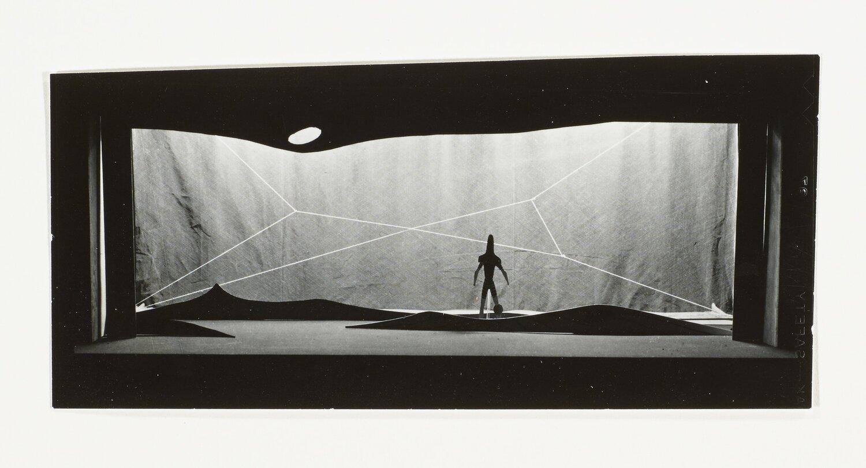Isamu Noguchi set design for  The Seasons , Walker Art Center.