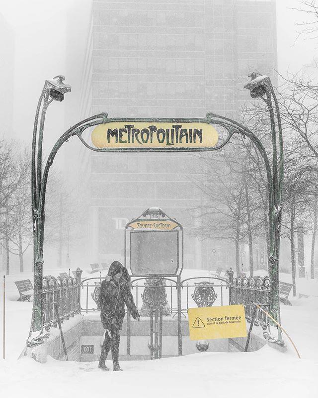 Heading toward Chatelet-Les Halles ❄️❄️❄️ En direction vers Chatelet-Les Halles • • • • • • #montreal #explorecanada #mtlmoments #ilovemontreal #montrealworld #mtlblog #livemontreal #montrealmoments #montrealcity #mtllife #winterwonderland #mtlblog #montrealstop #narcitymontreal #montreal_gallery #explorequebec #narcitymontreal #mtlprodigies #thismtl #ilovemtl #streetsof514 #moodymontreal #cbcmtl #jaimemtl #mtliconic #montreal_online #topmontrealphoto #dailyhivemtl #mtl #passionmtl