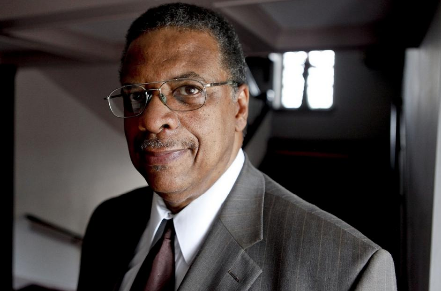 Photo of Rev. Charles Mock by SARAH CROSBY/ERIE TIMES-NEWS
