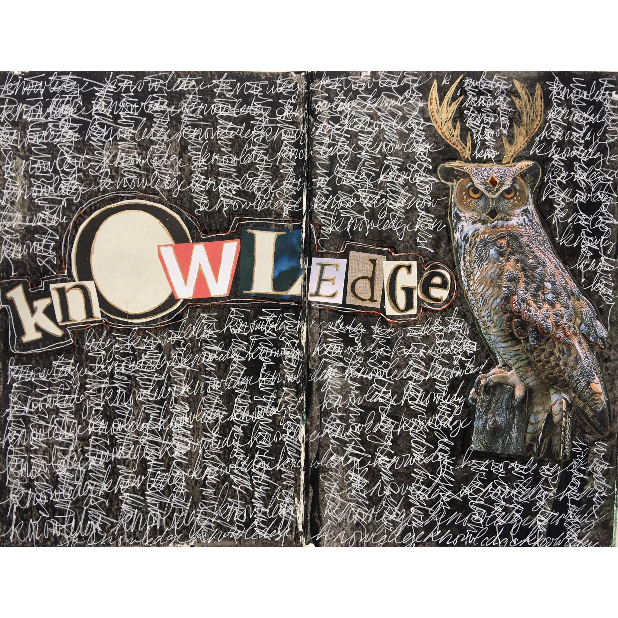 The word OWL is in the middle of knOWLedge. Seems fitting.