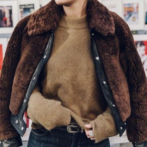 teddy bomber coat