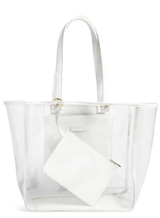 forever 21 clear bag