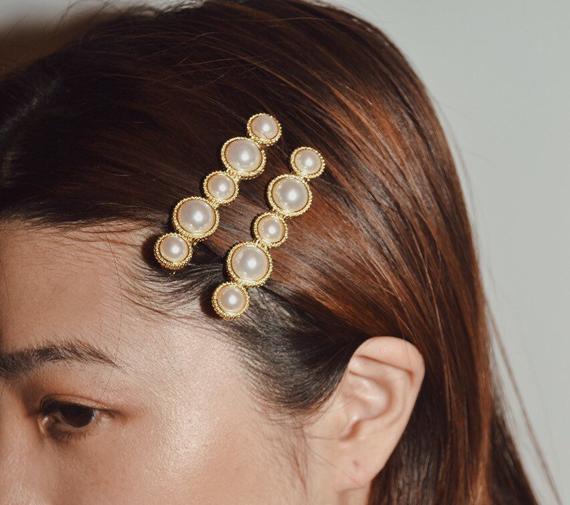 pearl head clip