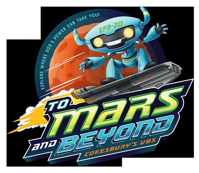 "VBS is almost here! Join us at Bridgeview UMC from July 7-10 for ""To Mars and Beyond."" We will begin at 5:30 pm each evening, have a light snack, and then head to mars until 8:00 pm! If you haven't registered yet, visit our website at www.bridgeviewumc.org! Registrations should be sent to admin@bridgeviewumc.org. Comment below or message us if you have any questions at all!"