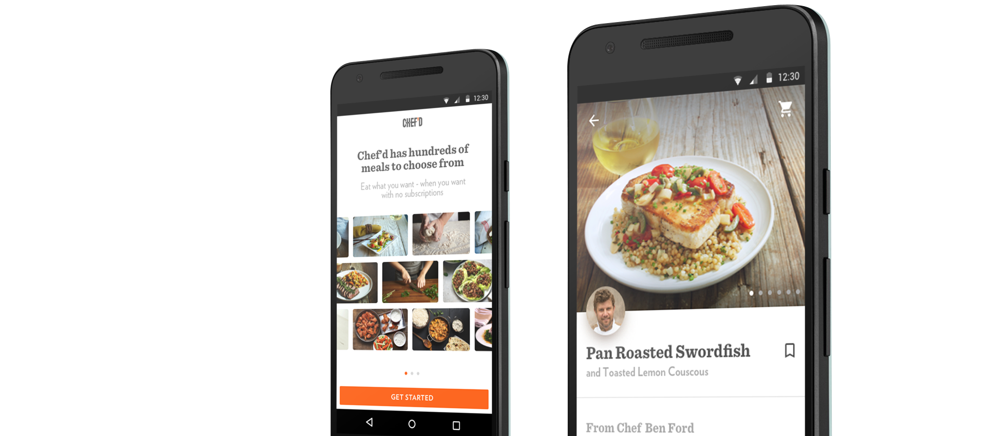 Chef'd - Android App