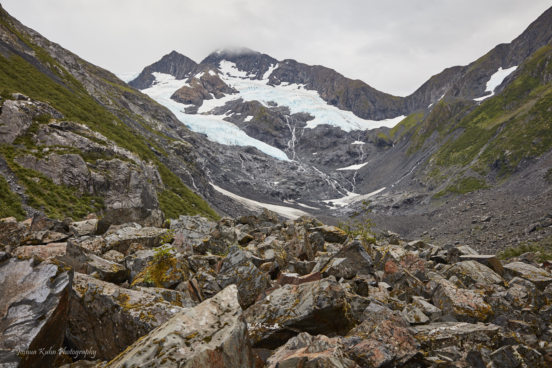 Summer Glacier Runoff