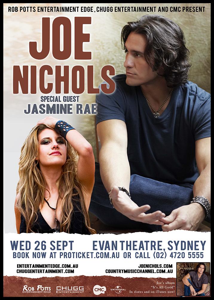 Joe Nichols & Jasmine Rae