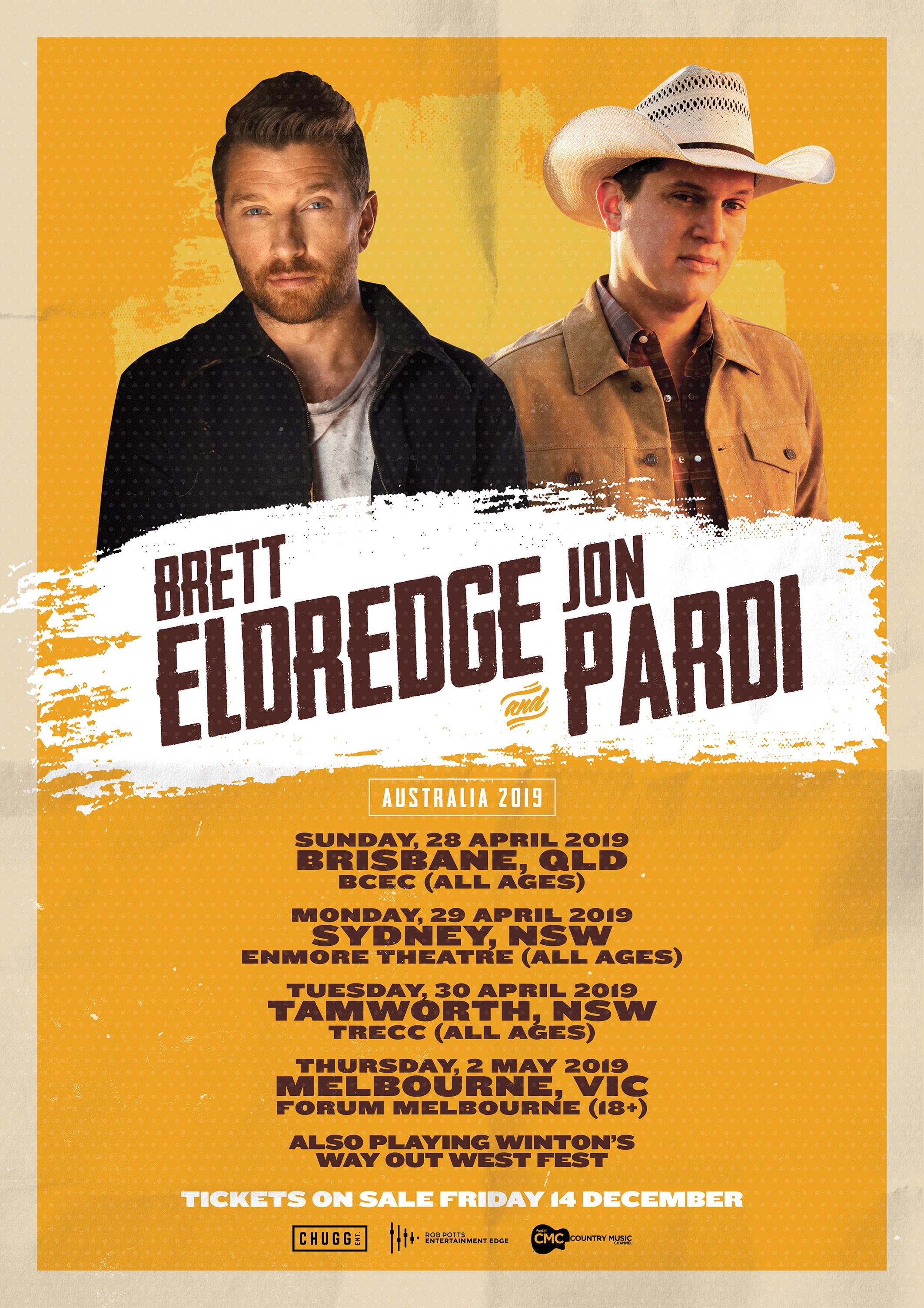 Brett Eldredge & Jon Pardi