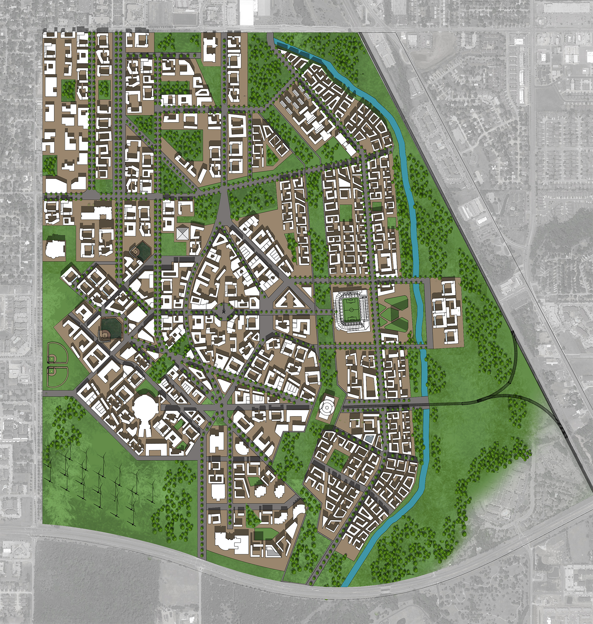 Master Plan Preliminary Design