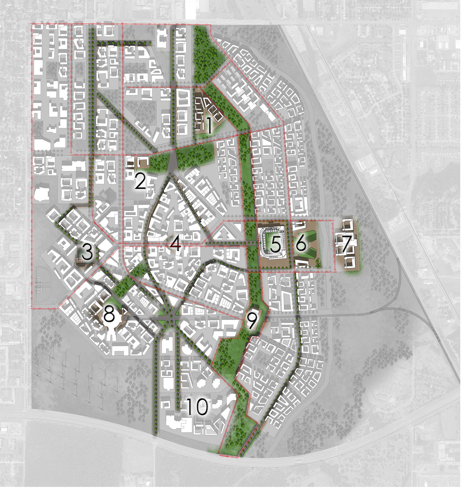 Master Plan Tram Map