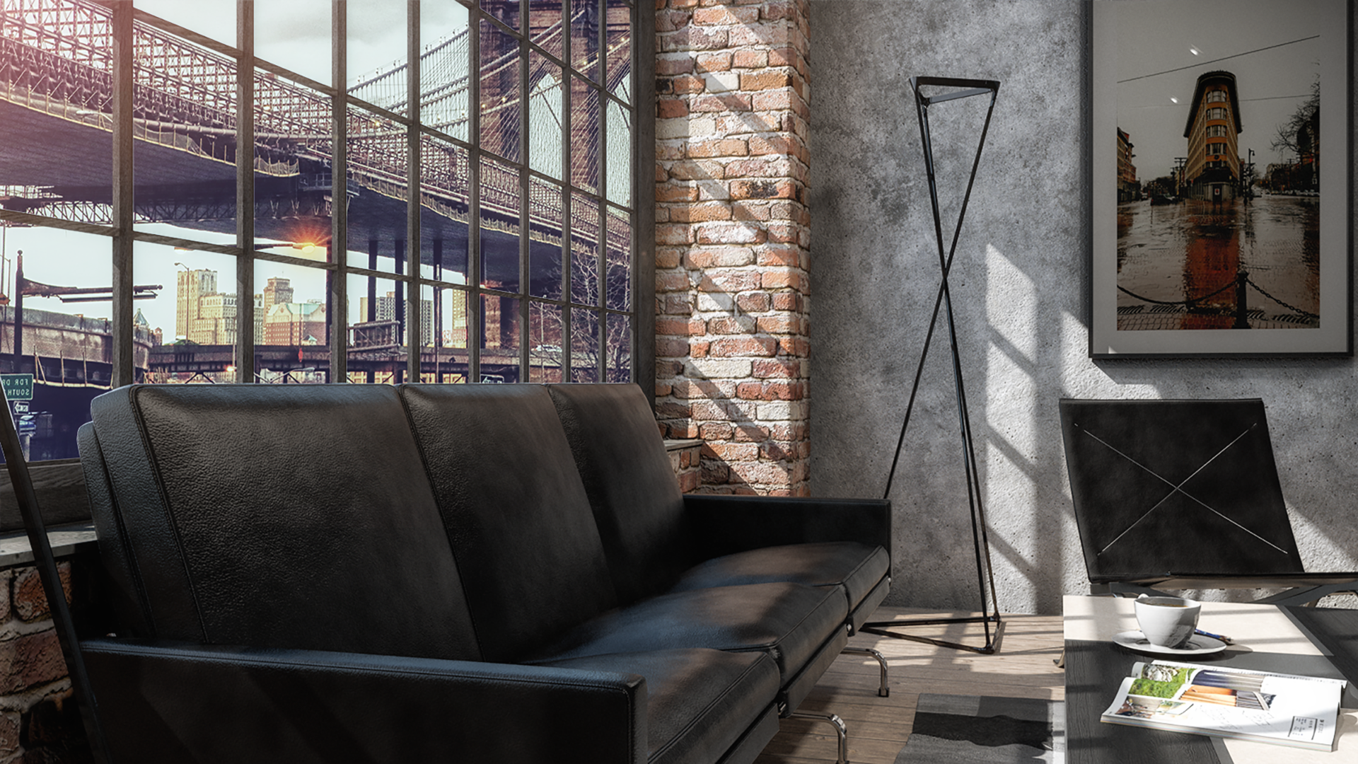 Industrial Living Room View 2 Final Rendering.png