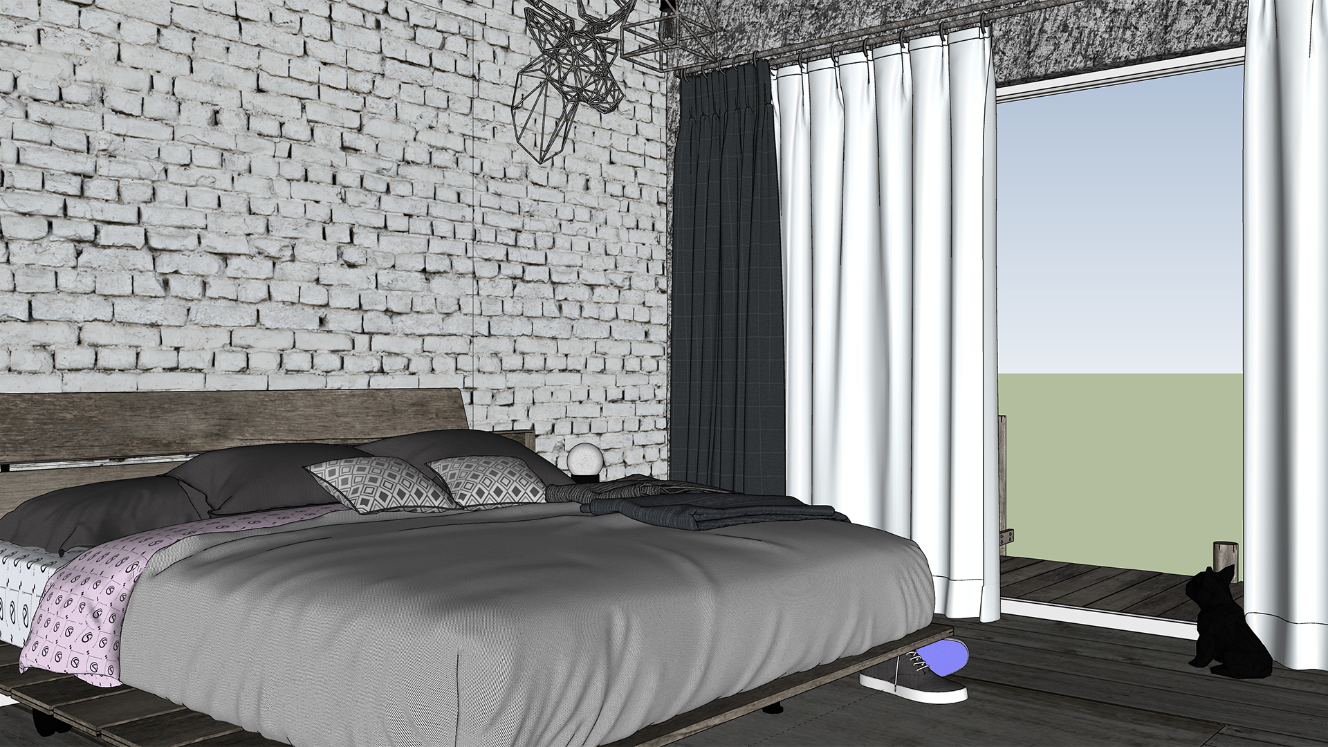Industrial Bedroom View 1 Day Screenshot 1920.jpg