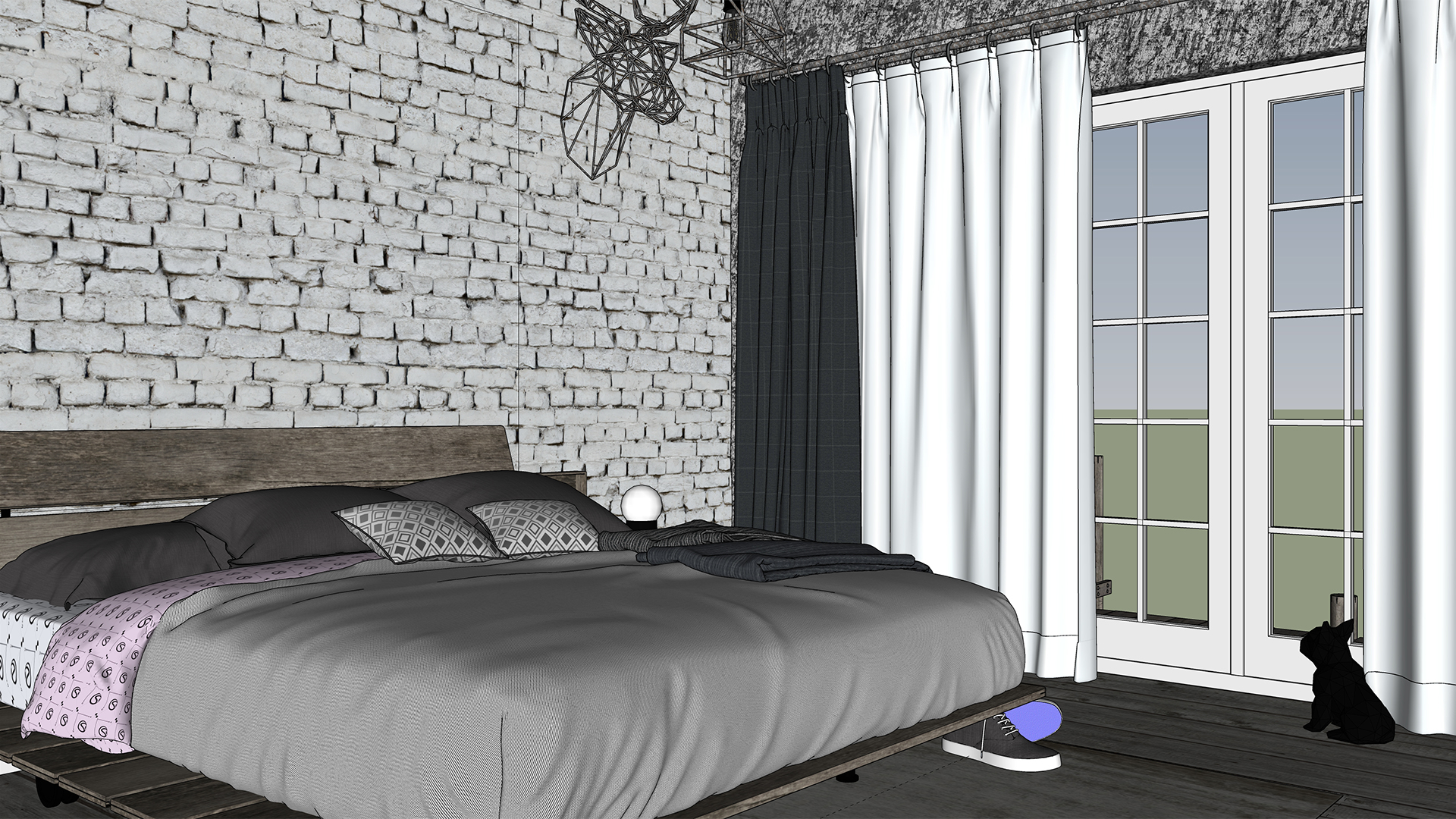 Industrial Bedroom View 1 Night Screenshot 1920.jpg
