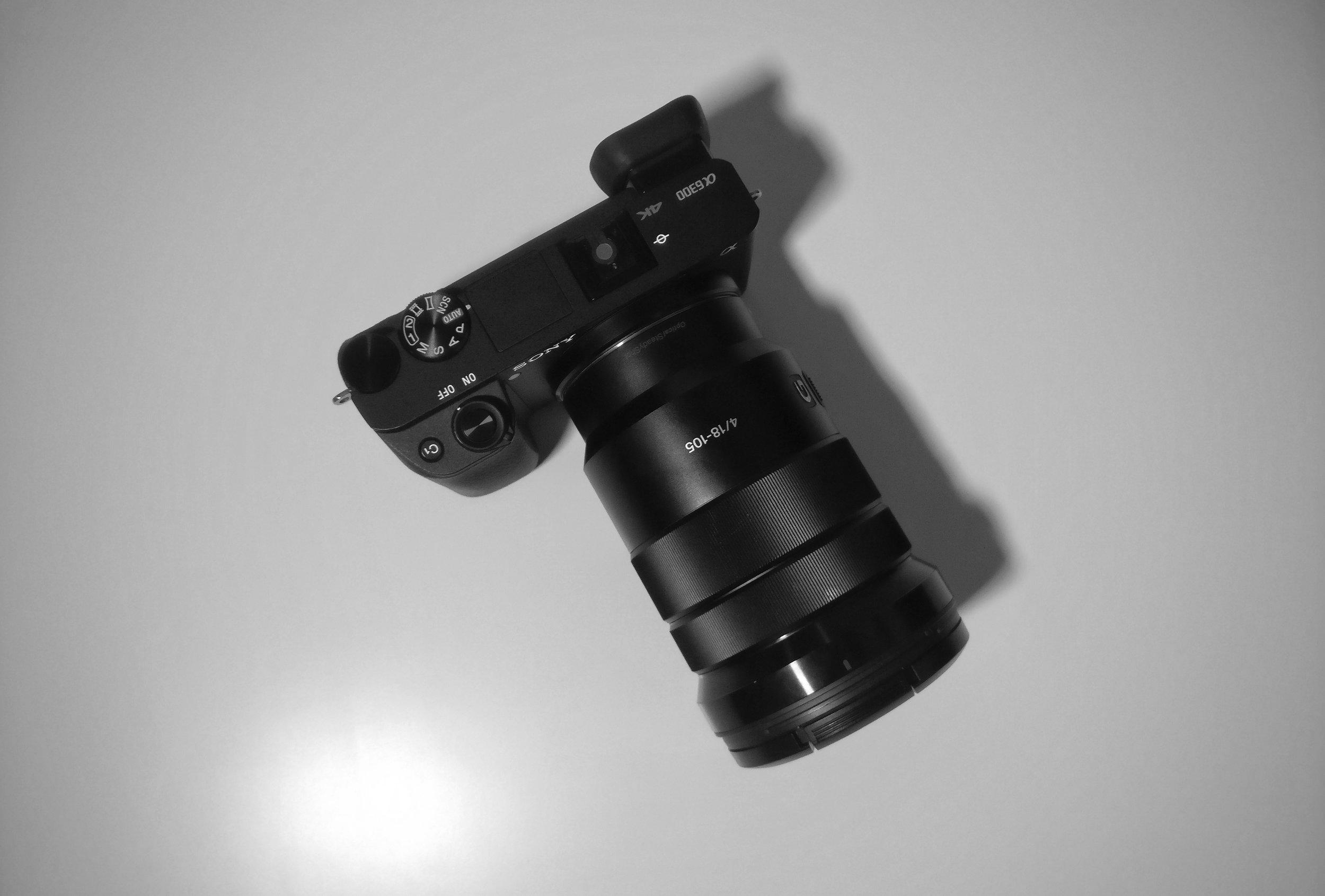 Sony a6300 - Mirrorless Camera, 4K capable -
