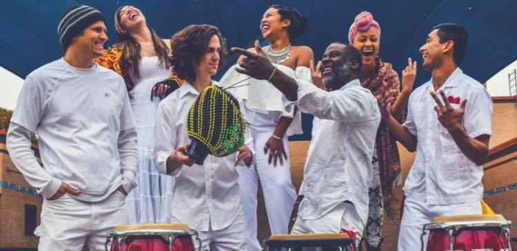 Afrobatics - Caribbean style from austinThe Afrobatics sound is an exuberant explosion of African and Caribbean rhythm and song. Dance is a crucial part of this energetic fusion of rhythm, melody, dance, soul, and culture.