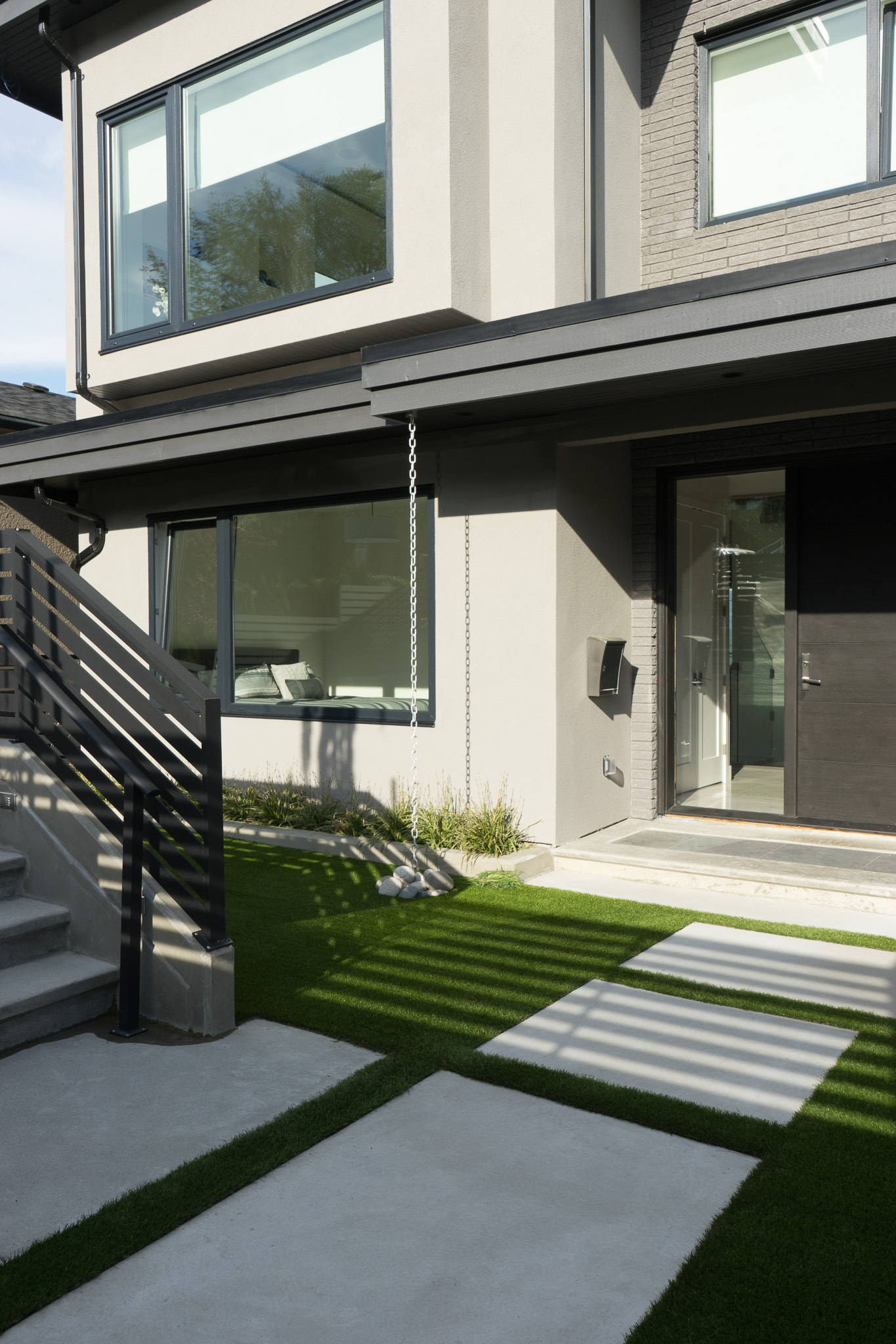 contemporary exterior home