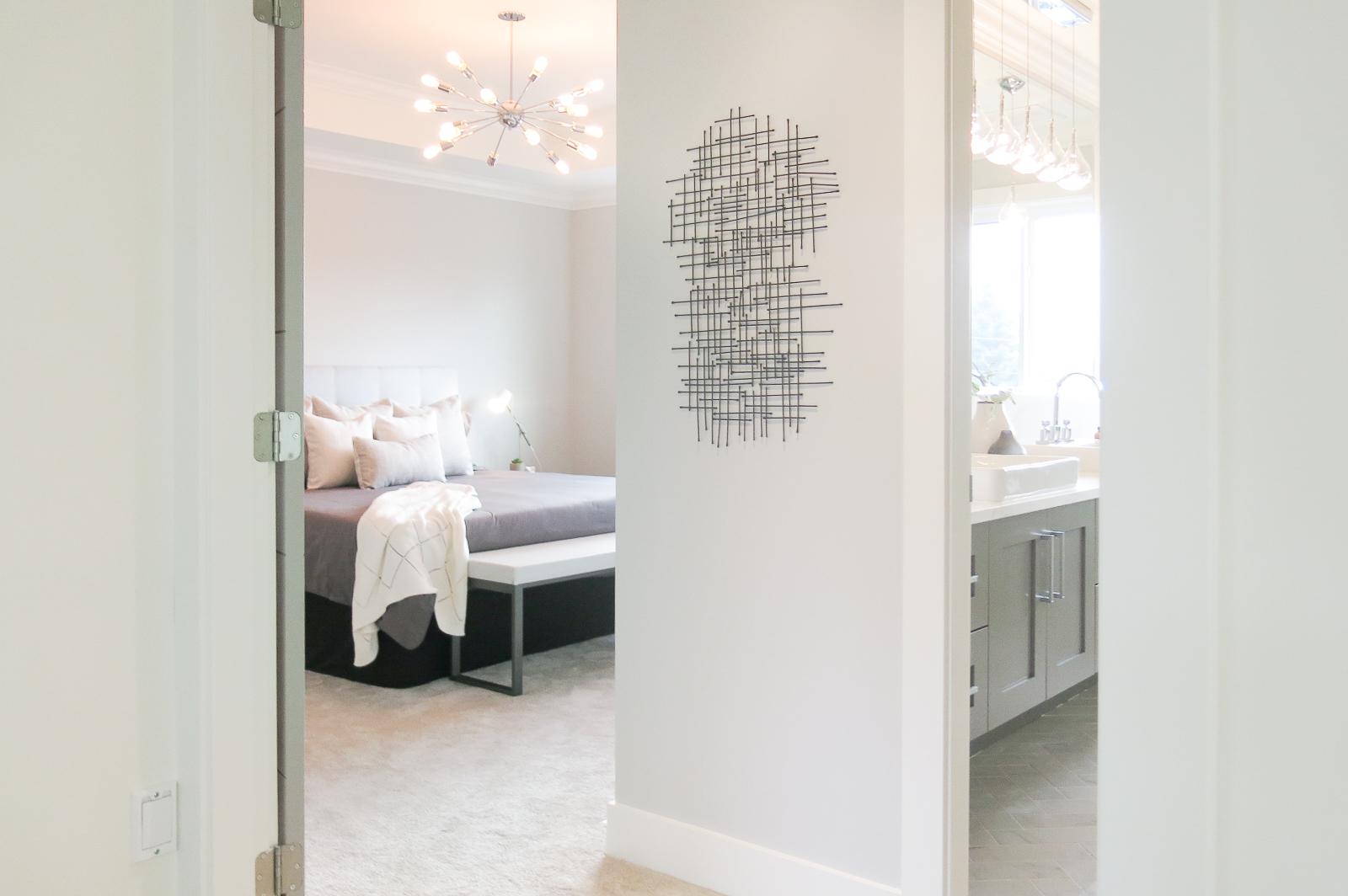 contemporary white home interior
