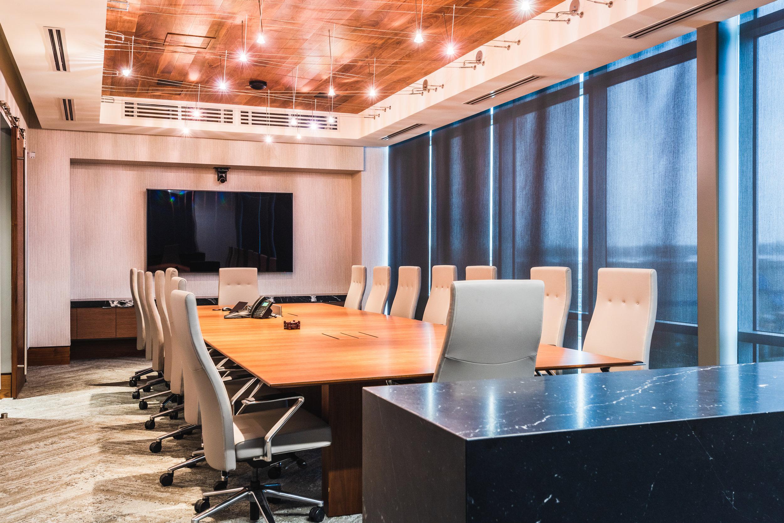 commercial head office boardroom