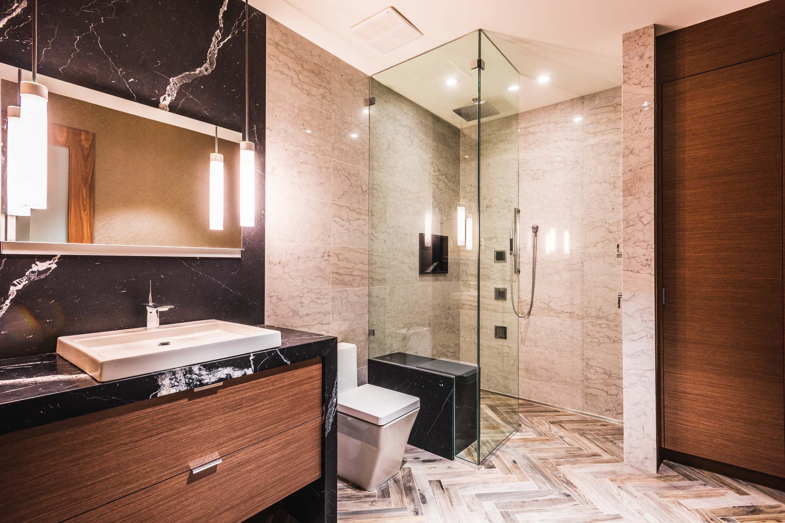commercial head office executive partner private washroom