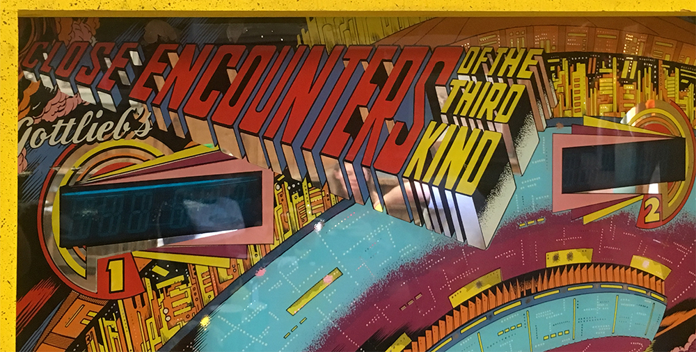 Close encounters of the pinball kind.