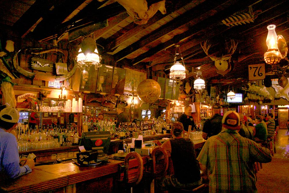 The second No. 10 Saloon, interior.