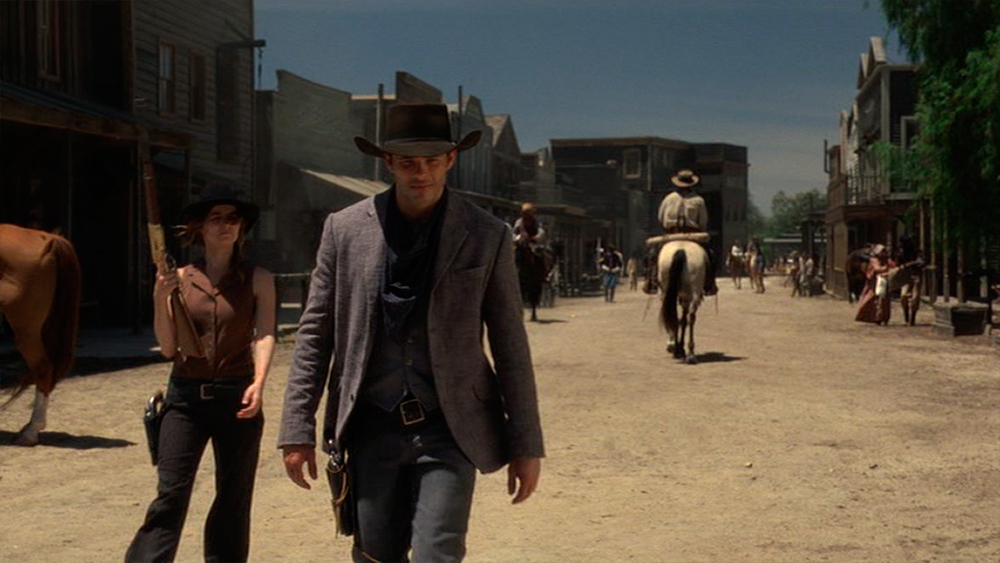 Westworld,  2016 series. All screen caps are from my DVD box set of season one.